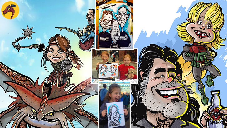 Childrens Caricaturist